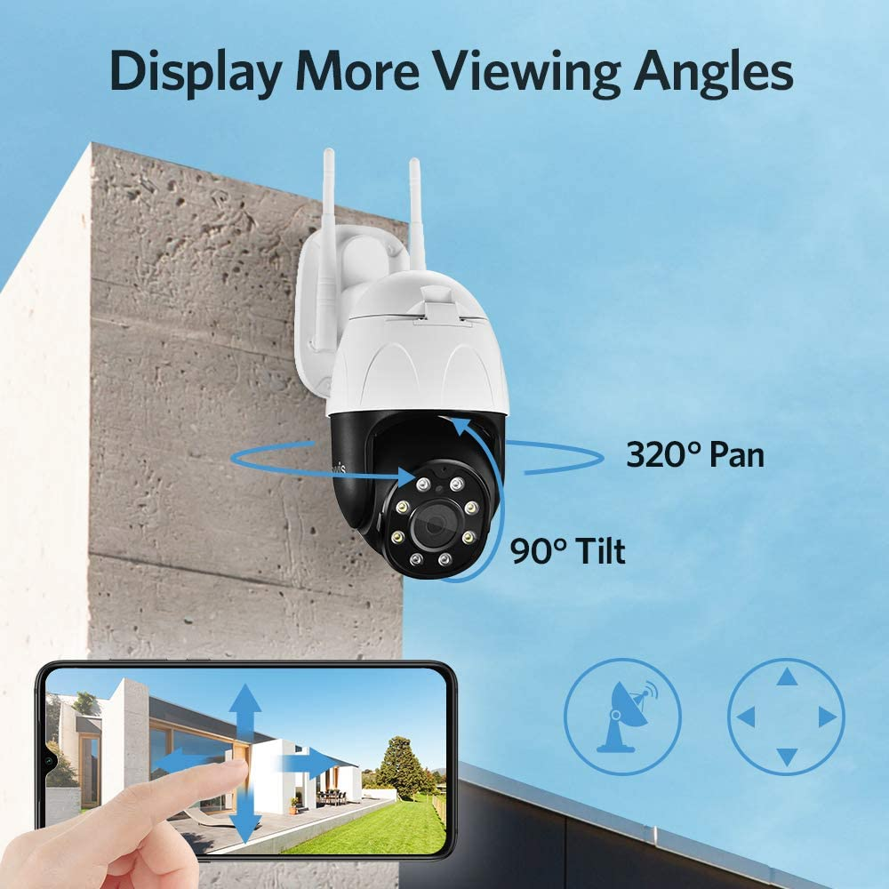 Home Security Surveillance TENVIS Security Camera Outdoor
